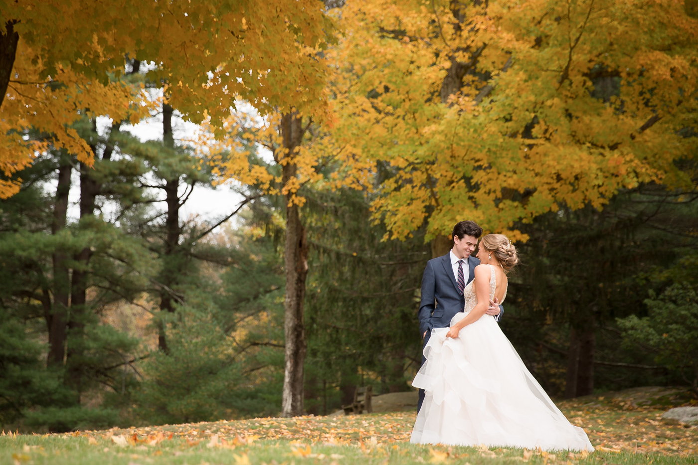 Autumn Wedding New England